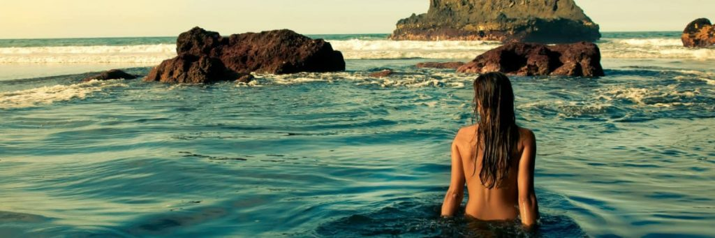 Date Night Ideas – A Nude Ocean Swim