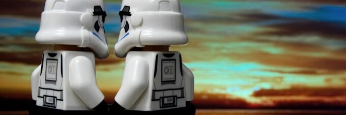 Storm troopers show relationship commitment